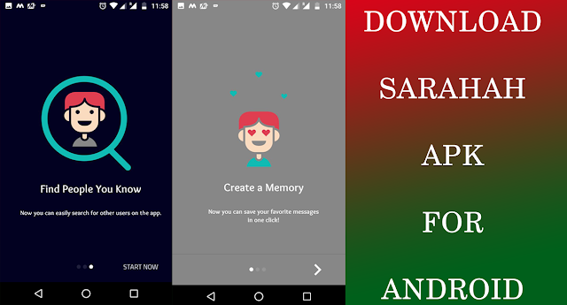 Sarahah Apk Latest Version Free download for Android