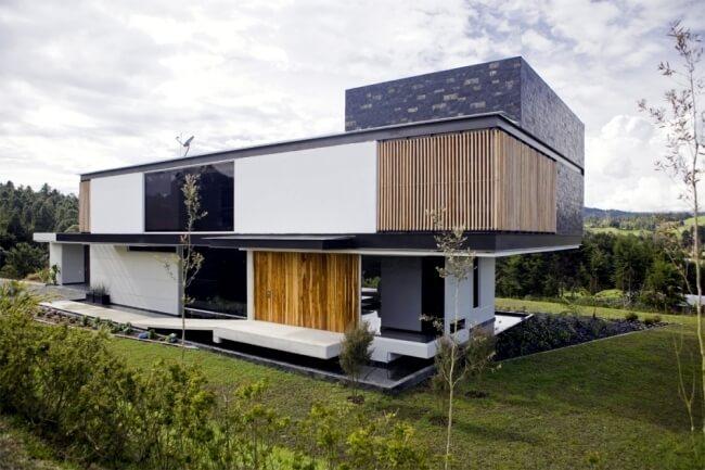 Teras Rumah Minimalis Dengan Tambahan Unsur Alam
