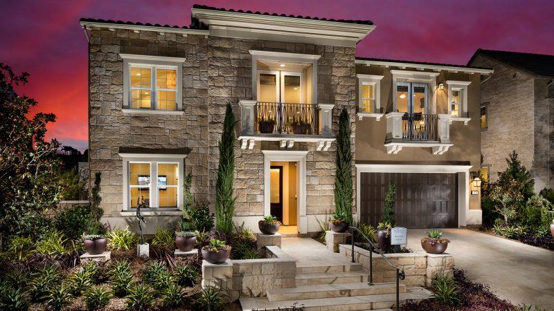 Modern teras rumah mewah