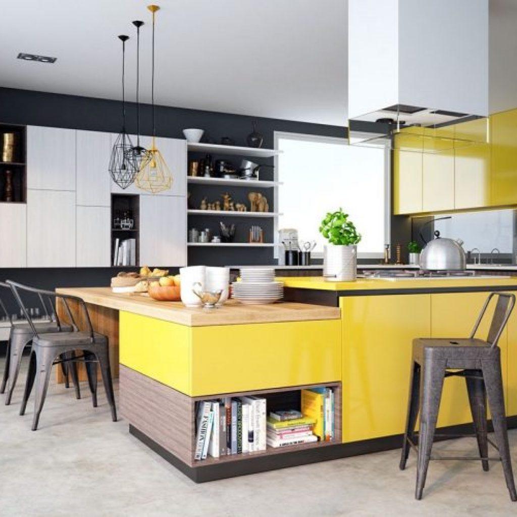 kitchen set model alami