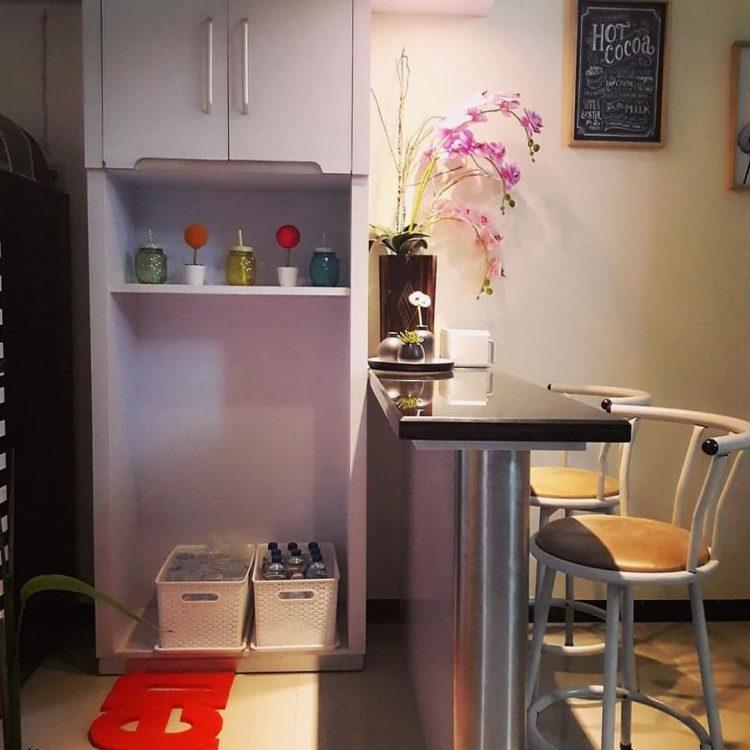 kitchen set mini bar