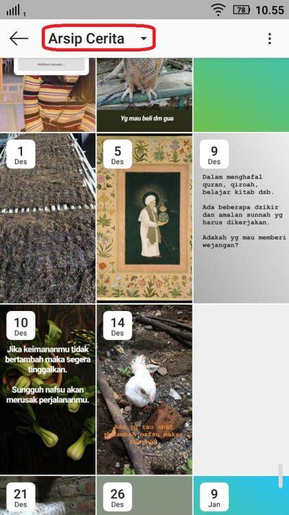 Cara Memulihkan Foto atau Arsip yang Terhapus di Instagram