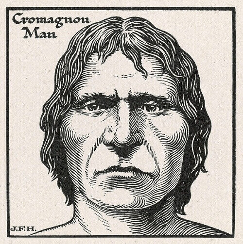 manusia purba Homo Cro Magnon