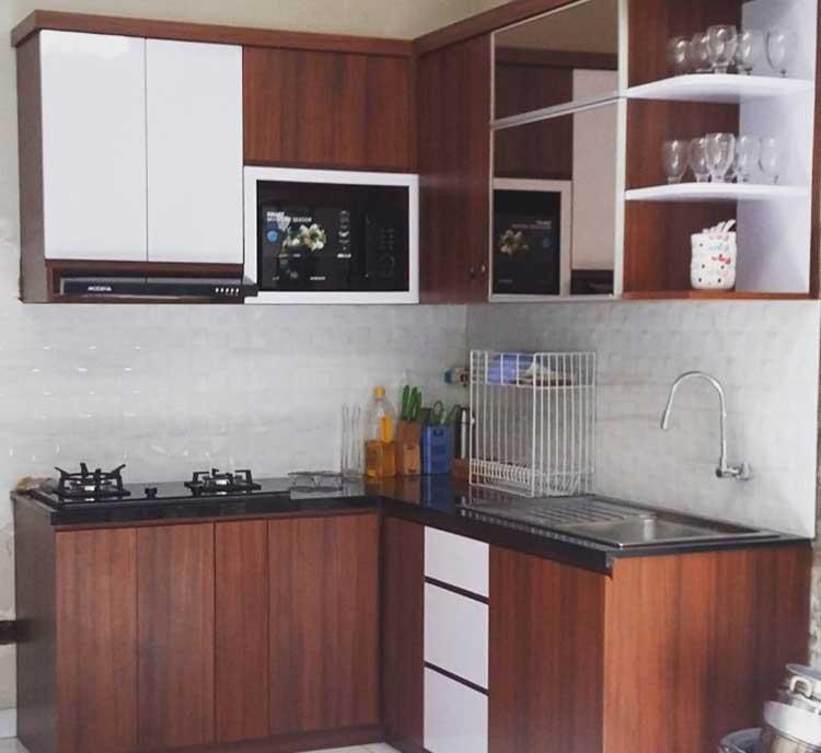 kitchen set mungil dan minimalis