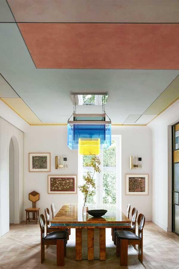 Interior ceiling room Geometric Ceiling