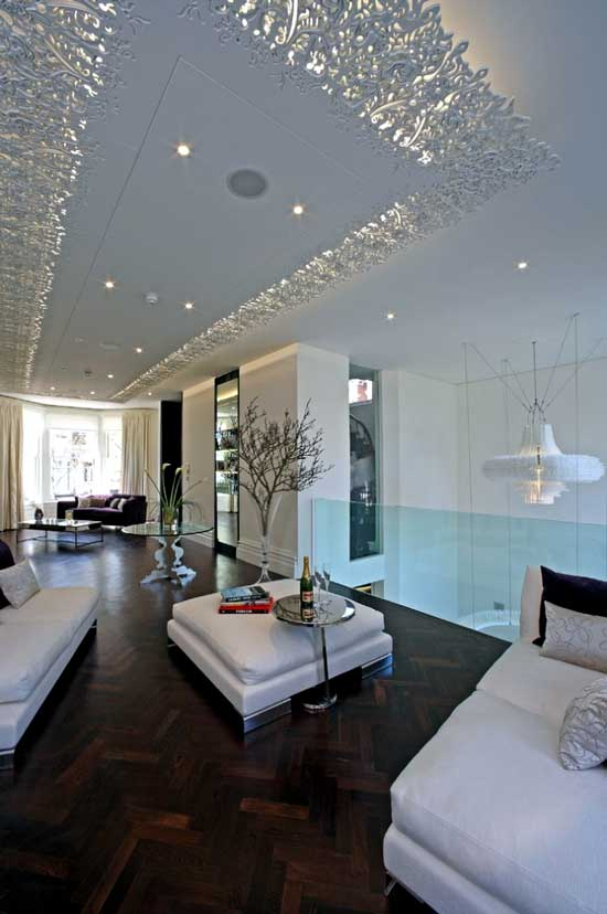 Best luxury ceiling living room design ideas