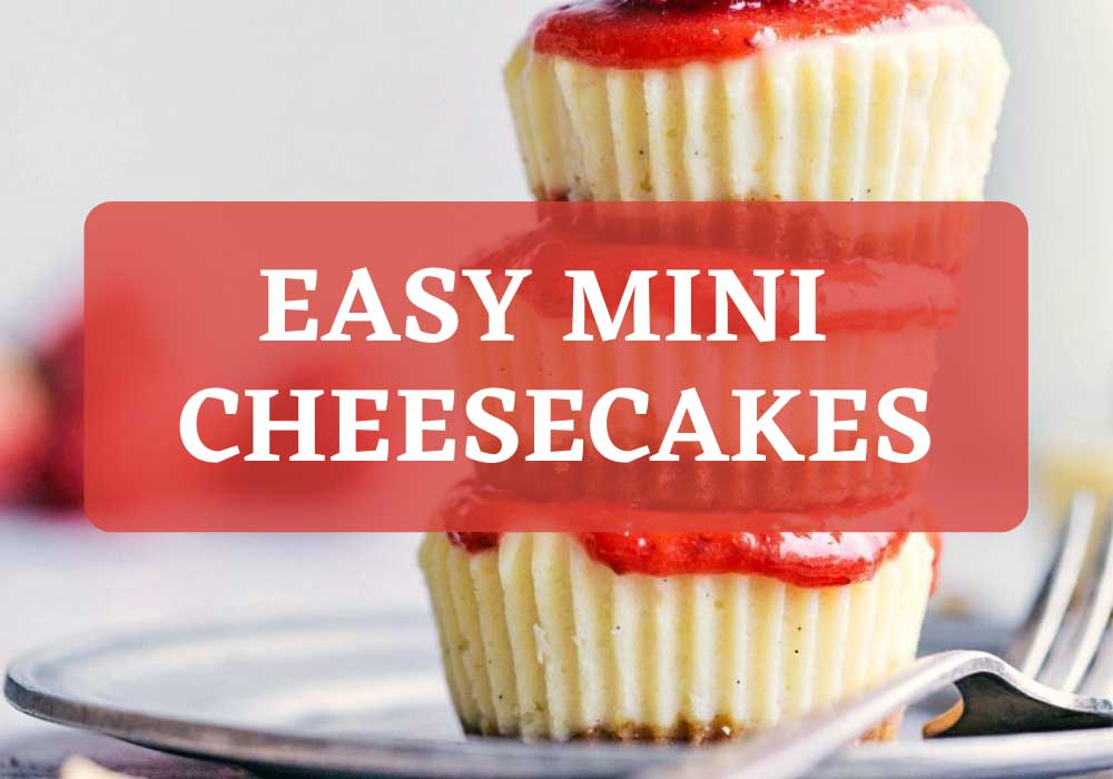 Easy Mini Cheesecake for christmas