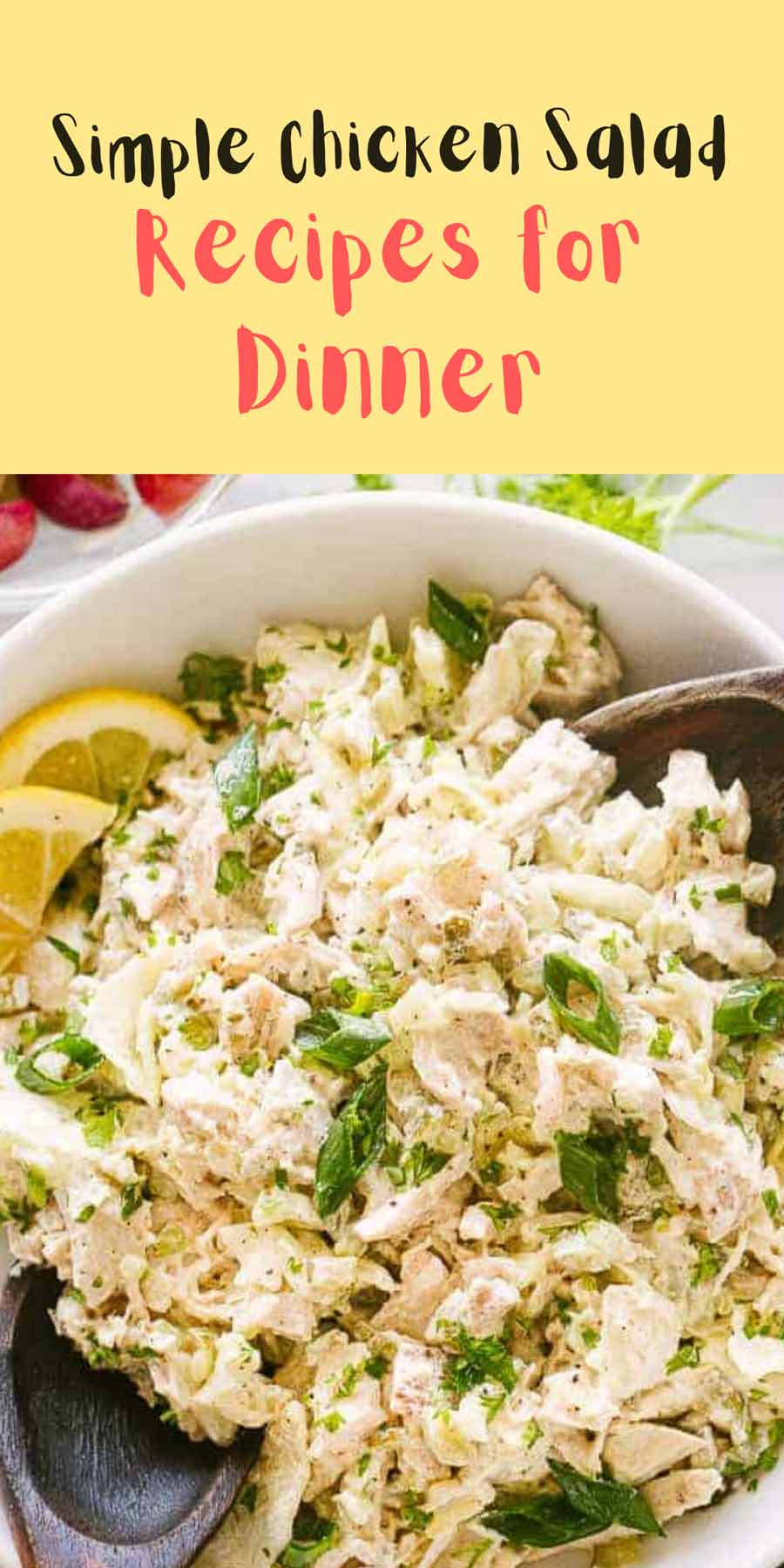 Salad Recipes For Dinner Chicken Simple
