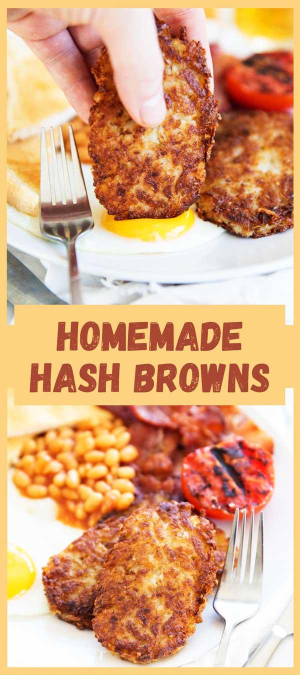 Breakfast Homemade Hash Browns Recipes