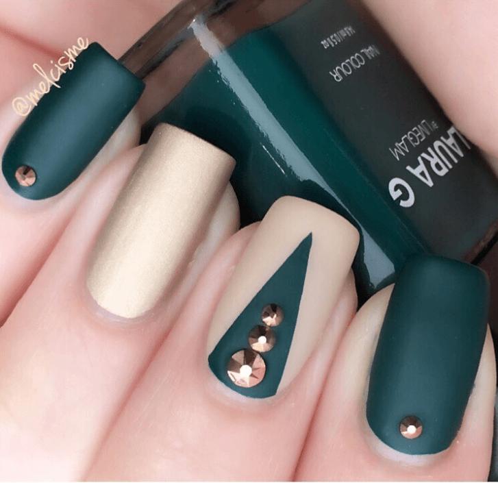 Matte Ivy nail design ideas