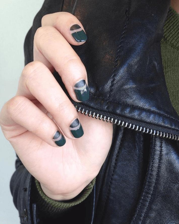 Nail design Matte vs. Glossy